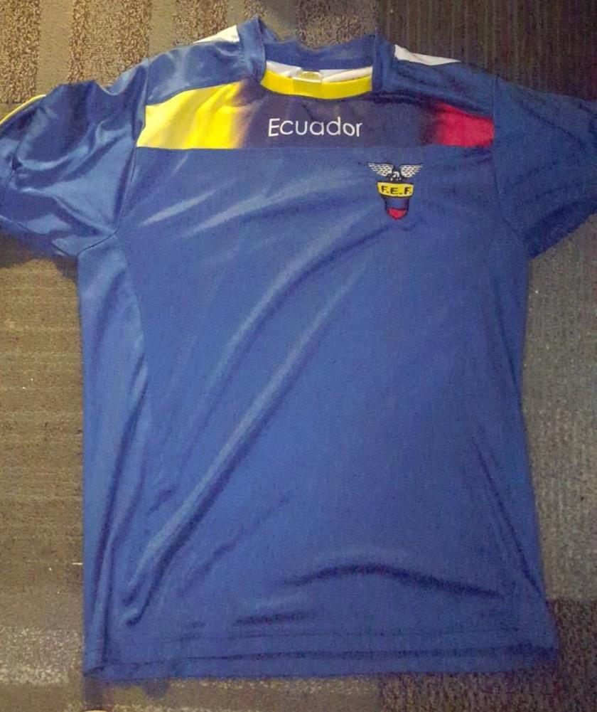 b0e8ee6433c Ecuador Away maglia di calcio 2012 - 2014.