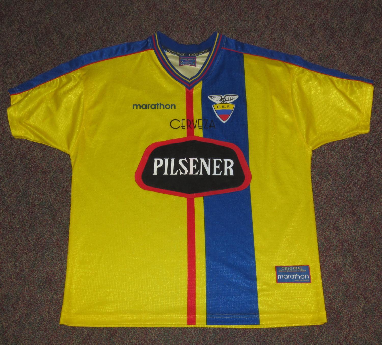 29aaae8c662 Ecuador Home maglia di calcio 1998 - 2001.