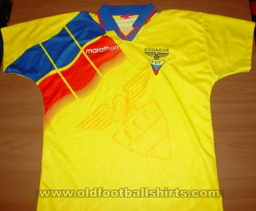 Ecuador Home football shirt 1996 - 1998