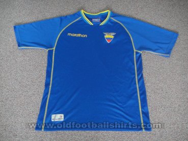 Ecuador Away football shirt 2002