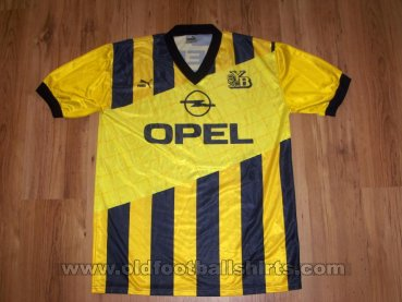 Young Boys Home football shirt 1990 - 1992