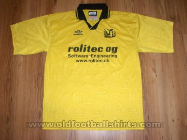 Young Boys Home football shirt (unknown year)