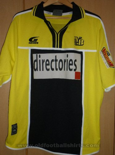 Young Boys Home football shirt 2001 - 2002