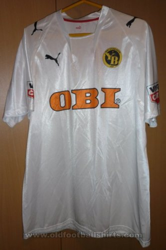 Young Boys Third football shirt 2007 - 2008