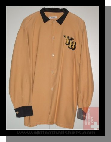 Young Boys Local Camiseta de Fútbol 1952 - 1954