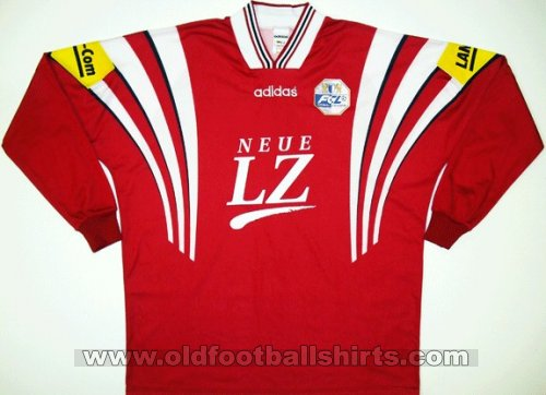 Luzern Away football shirt 1996 - 1997