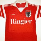 Aarau football shirt 1989 - 1990