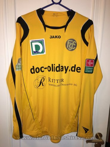 Schaffhausen Home football shirt 2008 - 2009