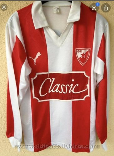 Red Star Belgrade Home futbol forması 1991