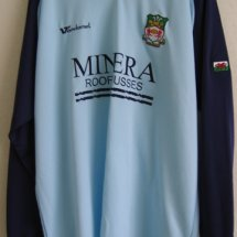Wrexham Away Maillot de foot 2005 - 2006 sponsored by Minera Roof Trusses