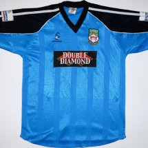 Wrexham Away Maillot de foot 2000 - 2001 sponsored by Double Diamond