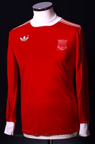 Wrexham Local Camiseta de Fútbol 1978 - 1981