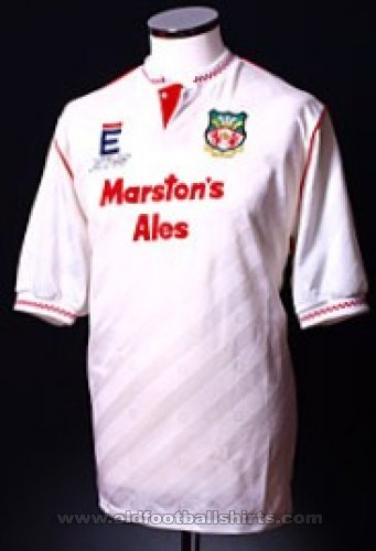 Wrexham Away футболка 1990 - 1991