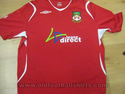 Wrexham Home football shirt 2008 - 2009