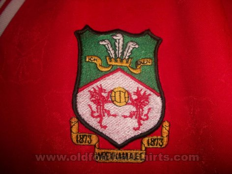Wrexham Local Camiseta de Fútbol 1998 - 2000