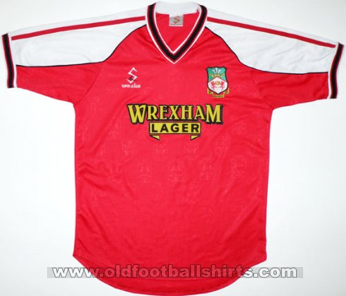 Wrexham Home football shirt 2000 - 2001