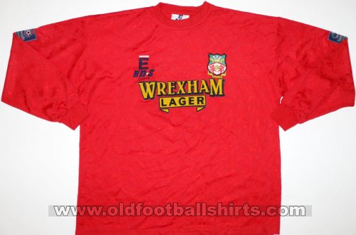 Wrexham Local Camiseta de Fútbol 1996 - 1997