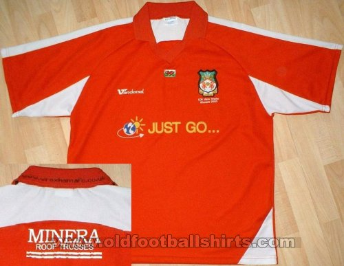 Wrexham Maillot de coupe Maillot de foot 2005 - 2006