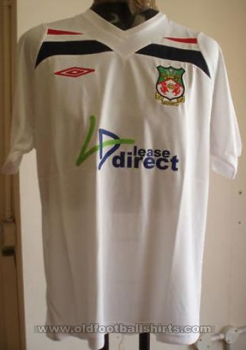 Wrexham Away football shirt 2009 - 2010