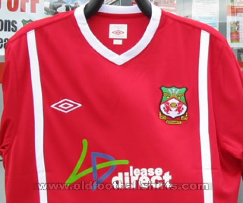 Wrexham Local Camiseta de Fútbol 2010 - 2011