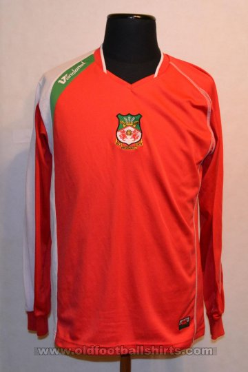 Wrexham Home football shirt 2007 - 2008