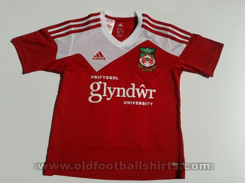 Wrexham Home Maillot de foot 2013 - 2014