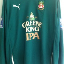 Wrexham Away Maillot de foot 2011 sponsored by Greene King IPA