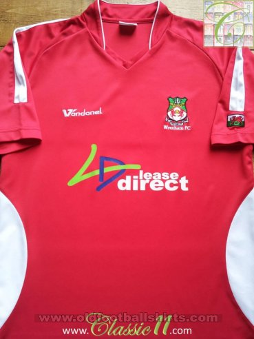 Wrexham Home football shirt 2006 - 2007