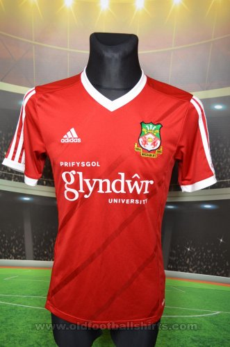 Wrexham Home Maillot de foot 2015