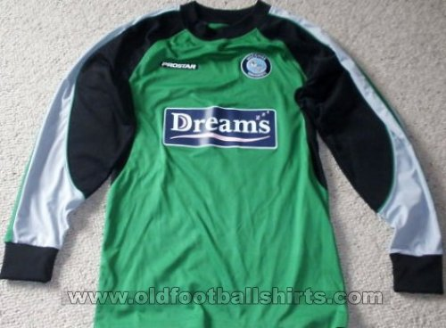 Wycombe Wanderers Вратарская футболка 2007 - 2008