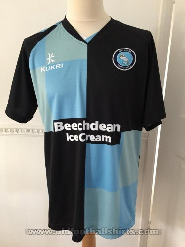Wycombe Wanderers Home football shirt 2014 - 2016