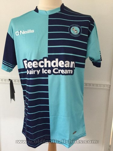 Wycombe Wanderers Home football shirt 2016 - 2017