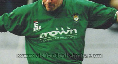 Burscough Home football shirt 1995 - 1997