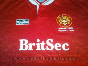 Harlow Town Home Maillot de foot (unknown year)
