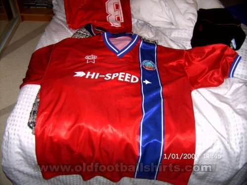 Aldershot Home football shirt 2002 - 2004