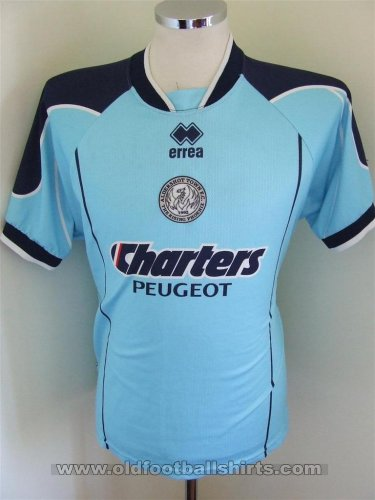 Aldershot Away football shirt 2004 - 2006