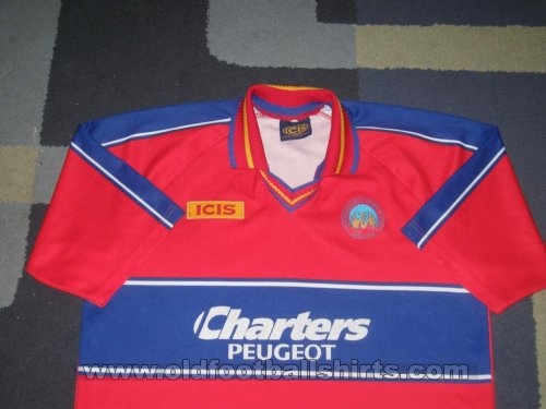 Aldershot Home Maillot de foot 1996 - 1998