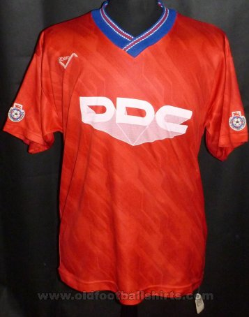 Aldershot Home football shirt 1991 - 1992