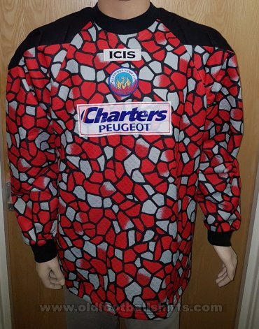 Aldershot Goalkeeper football shirt 1998 - 1999