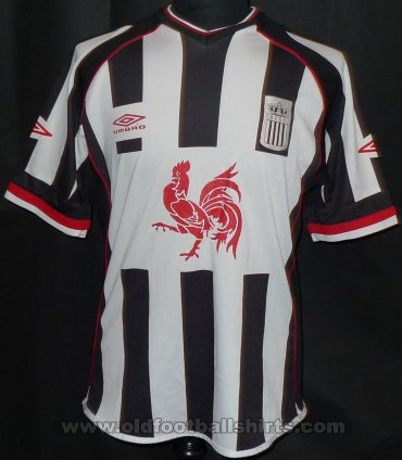 Charleroi S.C. Home football shirt 2003 - 2004