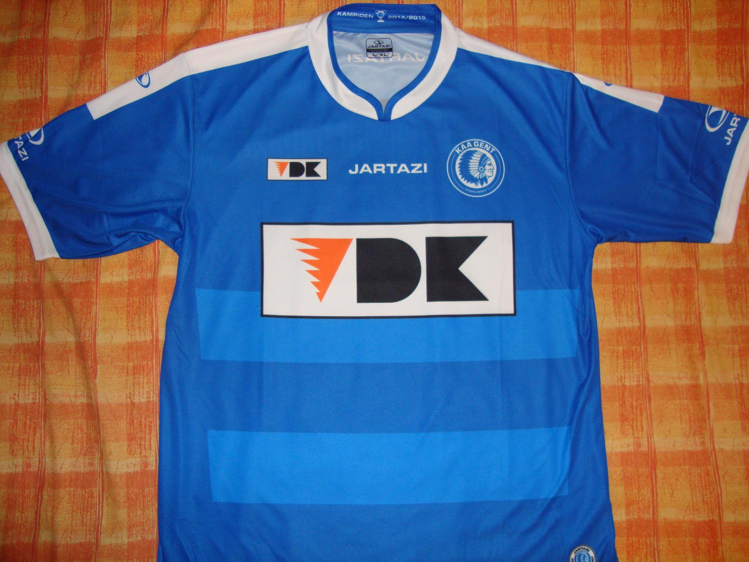 KAA Gent Home Maillot de foot 2015 - 2016.