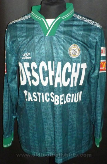 Lokeren Away football shirt 1997 - 1998