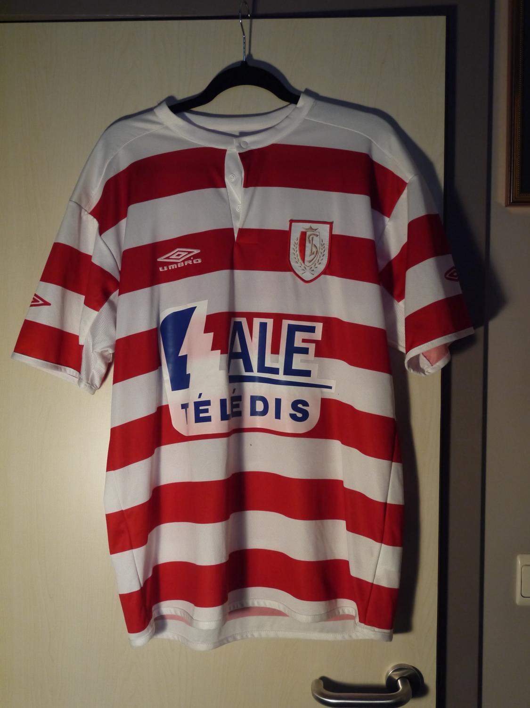 Standard Liege Home maglia di calcio 2005 - 2006. 32fa2c898