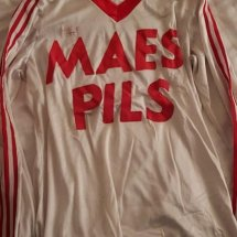 Standard Liege Away voetbalshirt  1978 - 1979 sponsored by Maes Pils