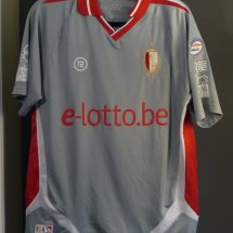 Standard Liege Third voetbalshirt  2010 - 2011 sponsored by e.lotto.be