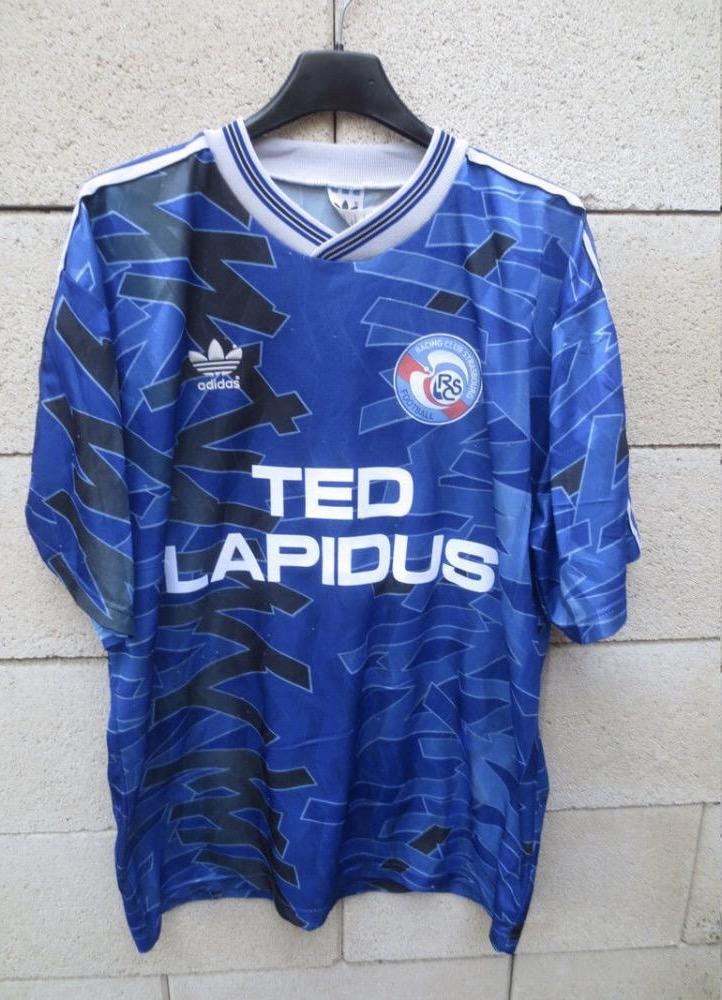 rc de strasbourg home football shirt 1992 1993 added on 2017 03 15 21 35. Black Bedroom Furniture Sets. Home Design Ideas