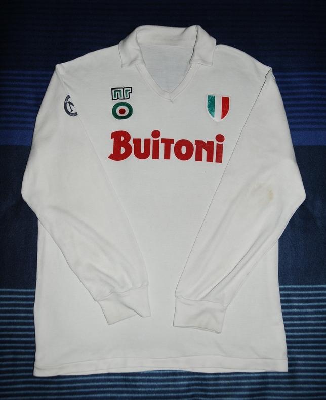 Napoli Away football shirt 1987 - 1988.