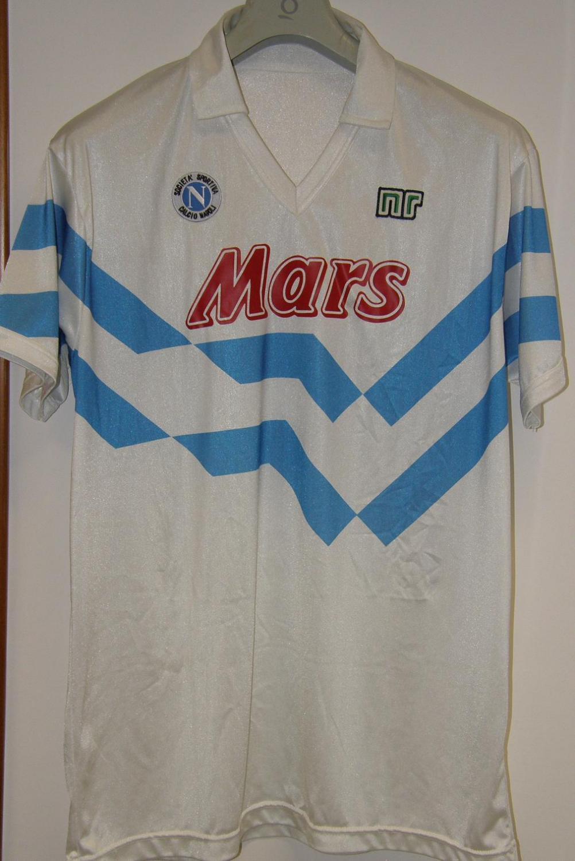 Napoli Away Football Shirt 1989 1990