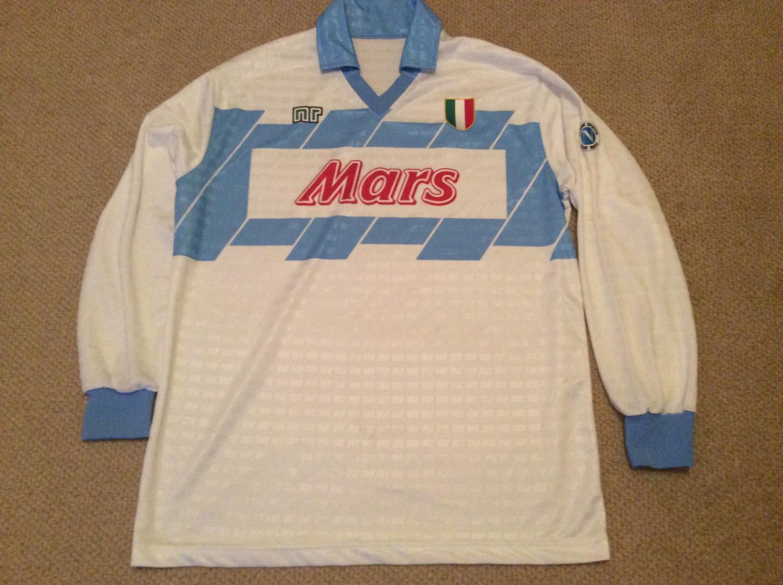Napoli Away Football Shirt 1990 1991