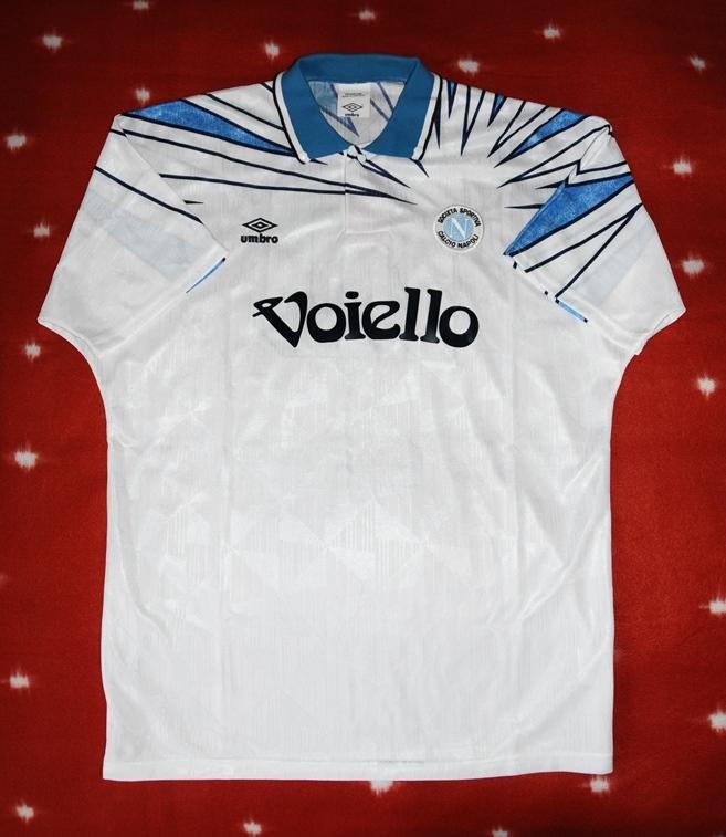 Napoli Away Football Shirt 1991 1993